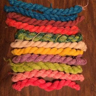 Hand spun yarn 3 of 4