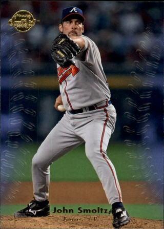 John Smoltz - 2008 Upper Deck Sweet Spot #59 - Atlanta Braves star and HALL OF FAMER - Mint card