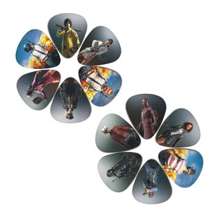 SOACH 2018 10pcs 3 kinds of thickness new guitar picks bass most popular games pictures quality