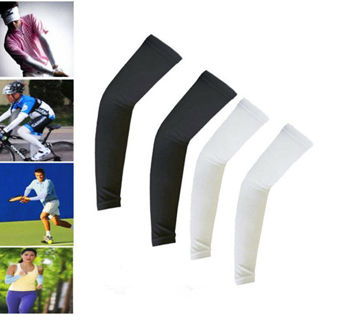Fast Delivery - New 1Pair Cooling Arm Sleeves Cover UV Sun Protection #2
