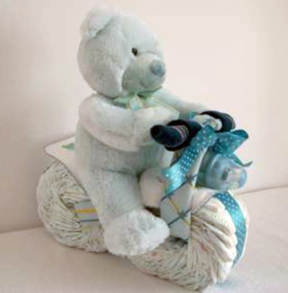 Free Diy Motorcycle Diaper Cake Other Craft Items