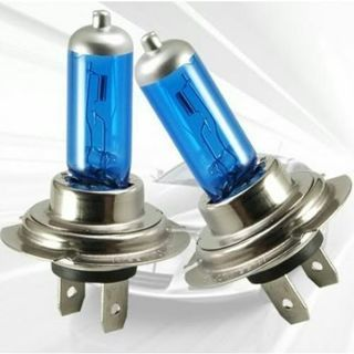 2PCs H7 100W 12V 6000K Xenon Gas Halogen Headlight Super White Light Lamp Bulbs
