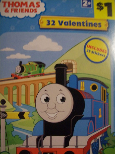 Free THOMAS AND FRIENDS VALENTINES DAY CARDSBRAND NEW Other – Thomas Valentine Cards