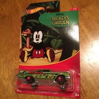 "Hot Wheels - '57 Plymouth Fury ""Disney's Mickey's Garden"" (Mickey Mouse 2/8)"
