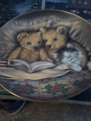 Franklin Mint Heirloom collector plate