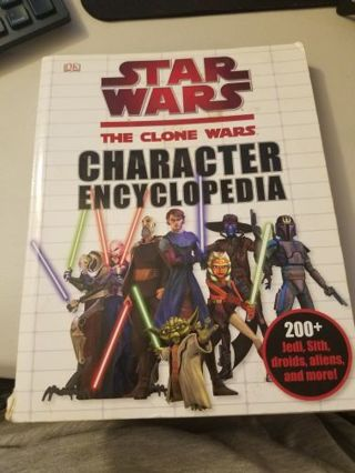 Star Wars The Clone Wars Character Encyclopedia Softcover Book