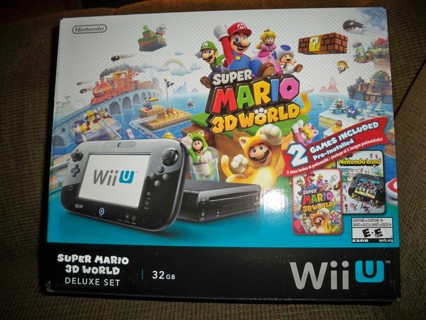 how to set up wii u on tv