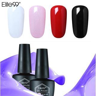 Elite99 Nail Art Design 10Ml Soak Off Enamel Pure Color Any1 Pick Red Black LED UV Gel Nail Polish