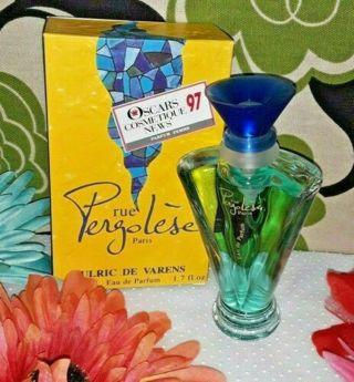 (NEW) NEW Rue Pergolese Paris France 1.7 Oz Spray Perfume Designer Fragrance