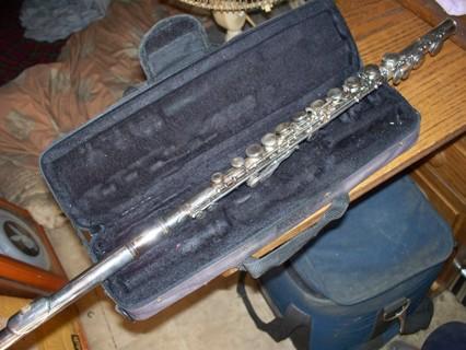 CECILIO Silver Plated Flute