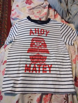 Ahoy matey shirt