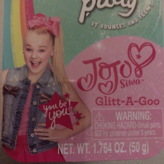 JoJo Siwa Glitt-A-Goo Liquid Lava Putty