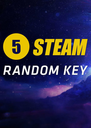 5 random steam keys price ranging from 0.01$ - 30 $