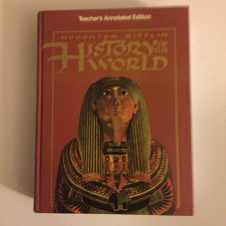 """Houghton Mifflin """"History of the World (Teacher's Annotated Edition). Hardcover! Hardcover – 1993"""