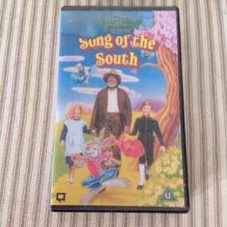 """Rare, Discontinued Disney """" Song of the South"""" VHS Highly Collectible !"""