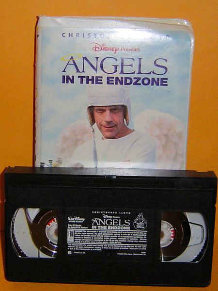 Free Disney Angels In The Endzone Vhs Vhs Listia Com