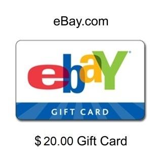 ❤️$20 Ebay gift card❤️ -  ❤️LOW GIN❤️