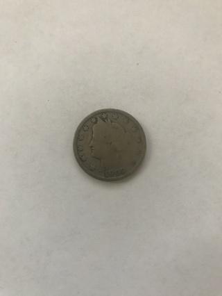 1902 V Liberty Head Nickel ~ US Coin
