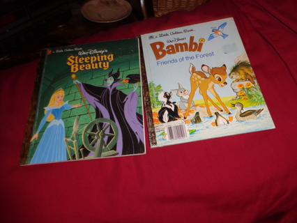 Two Vintage Little Golden Books