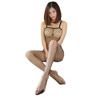 High Elastic Sexy Tights Women Sexy Body Stockings Sexy Fishnet Pantyhose Open Crotch Nylon