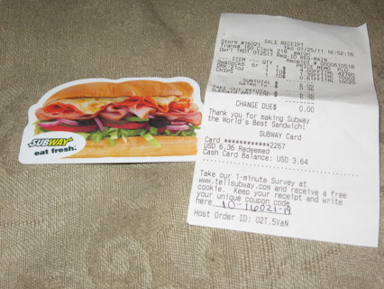 free subway gift card code for free cookie gift cards listia