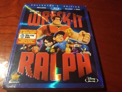((!! BRAND NEW !!)) WRECK-IT RALPH BLU-RAY