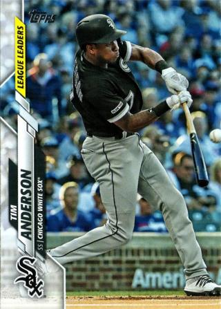 2020 Topps Tim Anderson #302 Chicago White Sox