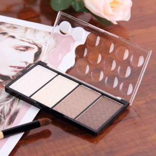 4 Colors Pressed Powder Highlight Contour Powder Shading Cosmetic