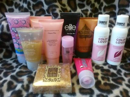 HUGE Bath & Body Shampoo Conditioner Lotion & Like Lot Paul Mitchell Framesi & More 50+ Items