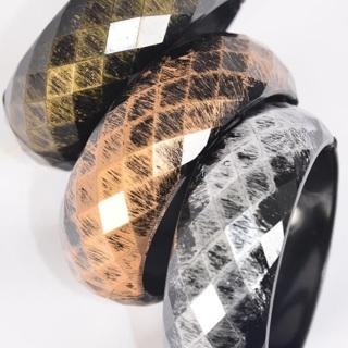 6 Pack Antique Finish Bangle Hinge Bracelet Lot