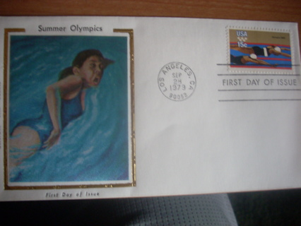 1979 Silk first day cover