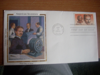 1983 silk first day cover
