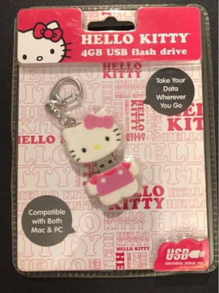 Hello Kitty USB 4 GB Flash Drive
