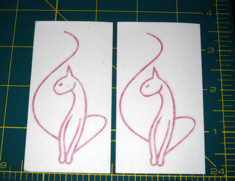 Free 2 Baby Phat Cat Logo Vinyl Decal 3 25 Quot Tall Red