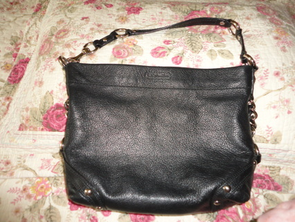 "AUTHENTIC COACH ""CARLY"" PEBBLED LEATHER PURSE HOBO SHOULDER BAG K1073-F1525!!!"