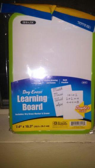 Dry Erase Learning Board