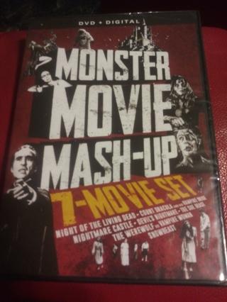 Monster movie 7 movie set Factory sealed