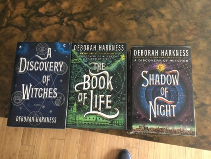 """""""Discovery of Witches"""" All Souls Trilogy by Deborah Harkness"""