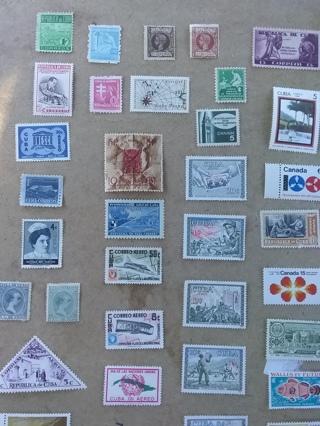 62# Mixed Stamp Lot * Unused