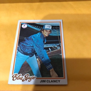 Free 1978 Topps Jim Clancy Baseball Card Sports Trading Cards