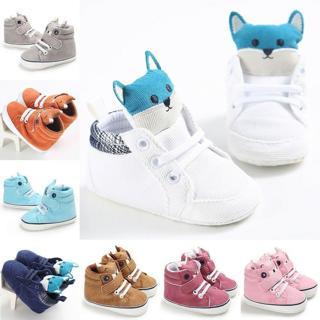 Newborn Baby Winter Warm Snow Boots Infant Boy Girl Crib Shoes Prewalker 0-18M