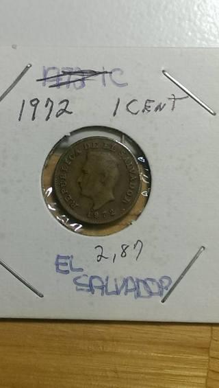 Free: 1972 El Salvador Penny 2 87 - Coins - Listia com