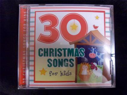 NEW- Sealed - CD - 30 Christmas Songs for KIDS - 74 Minutes CHRISTMAS Favorites FREE SHIPPING