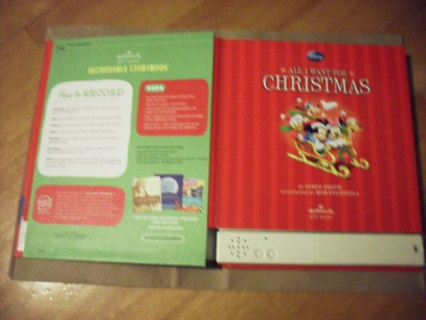 Recordable Christmas Books.Free Recordable Mickey Mouse Book Bn X Mas Gift