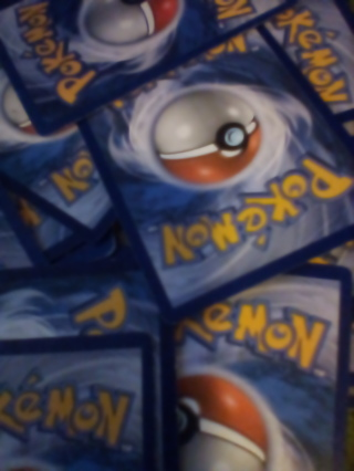 =•) Pokemon cards (•=