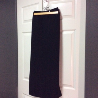 """WORTHINGTON"" Long Classy Black Skirt."