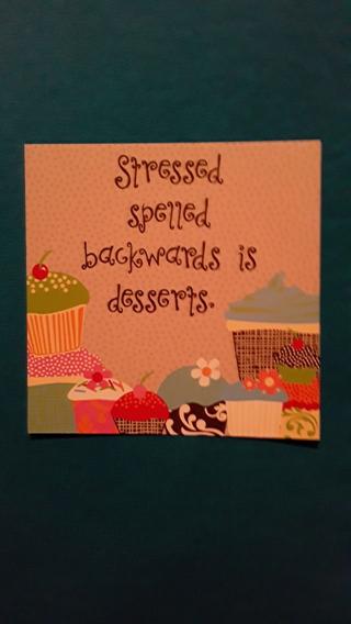 Greeting Card - Desserts