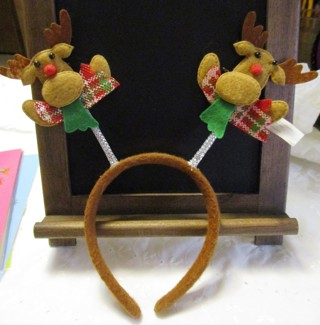 Holiday Reindeer Headband