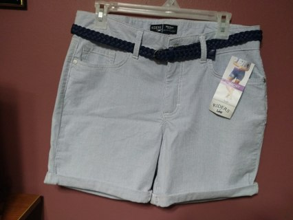 ~~BRAND NEW WITH TAGS~~RIDERS BY LEE SHORTS~BELT INCLUDED~FREE SHIP!!~~