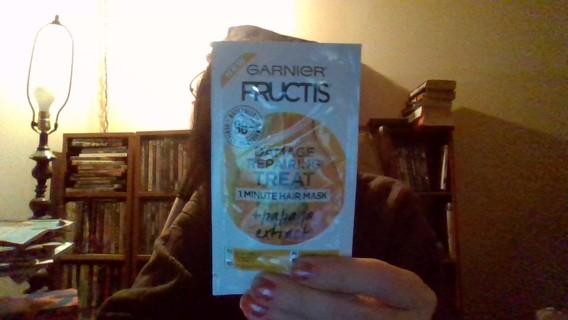 *Relist* Garnier Fructis Damage Repairing Treat 1 Minute Hair Mask